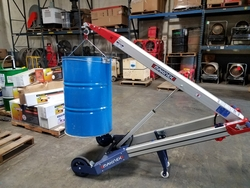HAND TRUCK FOR CABLE DRUM LIFTING