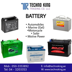 BATTERY SUPPLIERS from TECHNO KING TRADING CO LLC