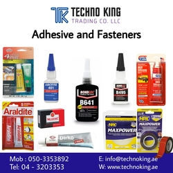LUBRICANTS Adhesive Fasterners from TECHNO KING TRADING CO LLC