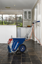 FLOOR STRIPPING MACHINE FOR FLOOR COVERING