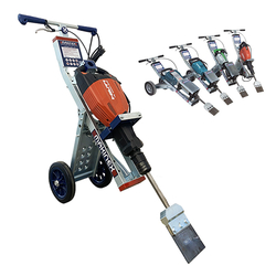 MARBLE TILES REMOVAL MACHINE