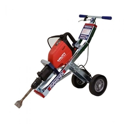 JACKHAMMER TROLLEY FOR AGRICULTURAL PROJECTS
