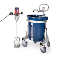 SELF LEVELING CEMENT MIXING STATION