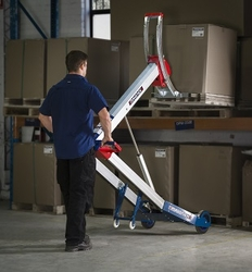 HYDRAULIC HAND TRUCK FOR STACKING