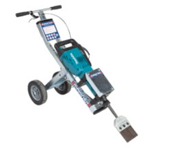 JACK HAMMER TROLLEY FOR ROAD MAKERS