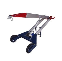 HAND TRUCK WITH FORKLIFT ATTACHMENT