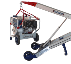 POWERED HAND TRUCK FOR MATERIAL HANDLING