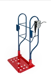 HAND TRUCK WITH TABLE LIFT ATTACHMENT