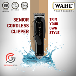 Grooming Souq - Wahl 5 Star Senior Cordless Clipper #8504.