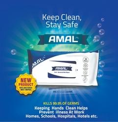 Antibacterial Wet Wipes 50 Pcs
