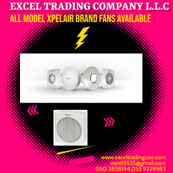 ALL MODEL XPELAIR FANS SUPPLIERS AND DEALERS IN ABUDHBAI,DUBAI,SHARJAH,MUSAFFAH,UAE from EXCEL TRADING COMPANY L L C