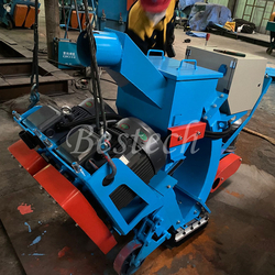 Mobile Road Surface Shot Blasting Machine from QINGDAO BESTECH MACHINERY CO.,LTD