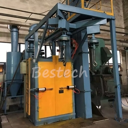 Spinner Hanger Hook Shot Blasting Machine from QINGDAO BESTECH MACHINERY CO.,LTD