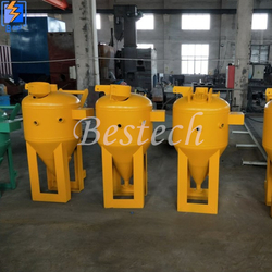 Wet type Dustless Sand Blasting Machine from QINGDAO BESTECH MACHINERY CO.,LTD