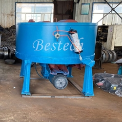 Foundry Double Wheel Green Sand Mixer from QINGDAO BESTECH MACHINERY CO.,LTD