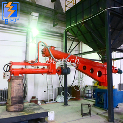 Double arm Furan Resin Sand Mixer from QINGDAO BESTECH MACHINERY CO.,LTD