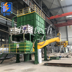 Foundry Resin Sand Production Molding Line from QINGDAO BESTECH MACHINERY CO.,LTD
