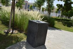 Cast Stone Litter Bin Supplier in UAE