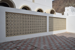 Claustra block supplier in UAE from ALCON CONCRETE PRODUCTS FACTORY LLC
