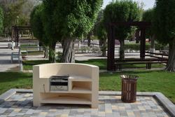 Concrete Barbeque stand supplier in Dubai from ALCON CONCRETE PRODUCTS FACTORY LLC