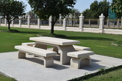 Concrete Furniture Supplier in Oman from ALCON CONCRETE PRODUCTS FACTORY LLC