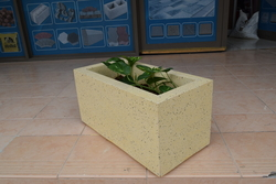 Concrete Planter Pot supplier in  Saudi Arabia from ALCON CONCRETE PRODUCTS FACTORY LLC
