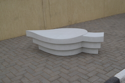 Precast bench supplier in Saudi Arabia from ALCON CONCRETE PRODUCTS FACTORY LLC
