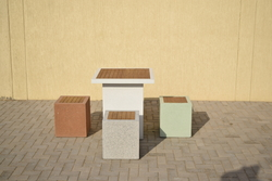 Precast Concrete Street Furniture Supplier in Dubai from ALCON CONCRETE PRODUCTS FACTORY LLC