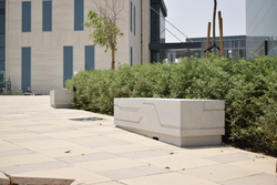 Concrete bench supplier in Bahrain from ALCON CONCRETE PRODUCTS FACTORY LLC