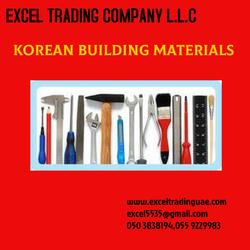 KOREAN BUILDING MATERIALS from EXCEL TRADING COMPANY L L C