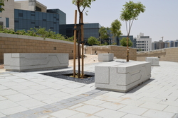Reinforced Precast Concrete Bench in UAE from DUCON BUILDING MATERIALS LLC
