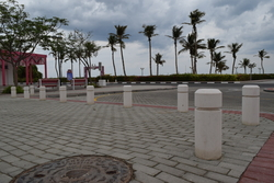 Concrete Bollards Suppliers in UAE from DUCON BUILDING MATERIALS LLC