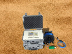 FLOW METER FOR MEASURING SAND