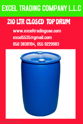 CLOSED TOP DRUM -210 LTR
