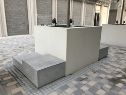 Planter Pot with Seat  Supplier in Dubai from DUCON BUILDING MATERIALS LLC