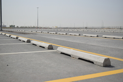Precast Car Stopper Supplier in Dubai from DUCON BUILDING MATERIALS LLC