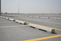 Precast Car Stopper Supplier in Dubai from DUCON BUILDING MATERIALS LLC