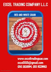 RED & WHITE CHAIN SUPPLIER IN ABUDHABI
