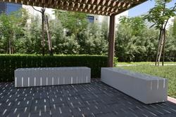 Precast Concrete Bench Manufacturer in UAE  from DUCON BUILDING MATERIALS LLC