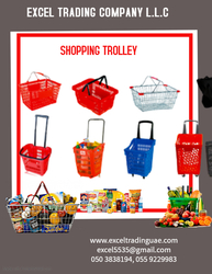 SUPERMARKET TROLLEYS from EXCEL TRADING COMPANY L L C