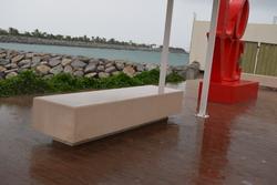 Precast Concrete Bench Supplier in UAE  from DUCON BUILDING MATERIALS LLC