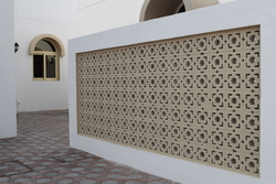 Claustra Block Supplier in Ajman from DUCON BUILDING MATERIALS LLC