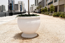 Precast Concrete Planter Pot Manufacturer in Sharjah from ALCON CONCRETE PRODUCTS FACTORY LLC