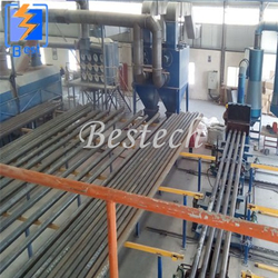 Steel Tube Internal Surface Shot Blasting Machine from QINGDAO BESTECH MACHINERY CO.,LTD