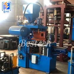 Foundry Single Station Sand Core Shooting Machine from QINGDAO BESTECH MACHINERY CO.,LTD
