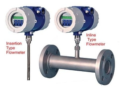 Thermal mass flowmeters