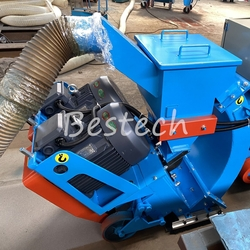 Movable Shot Blasting Machine for Steel Plate from QINGDAO BESTECH MACHINERY CO.,LTD