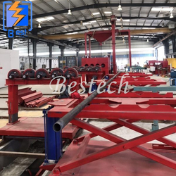 Steel pipe Internal Wall Shot Blast Cleaning Machine from QINGDAO BESTECH MACHINERY CO.,LTD