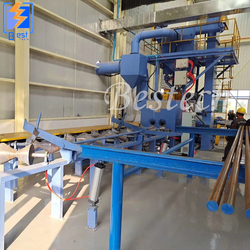 Steel Tube Inner Wall Shot Blast Cleaning Machine from QINGDAO BESTECH MACHINERY CO.,LTD