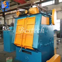 Crawler Belt Shot Blasting Machine for Valve Surface Cleaning from QINGDAO BESTECH MACHINERY CO.,LTD